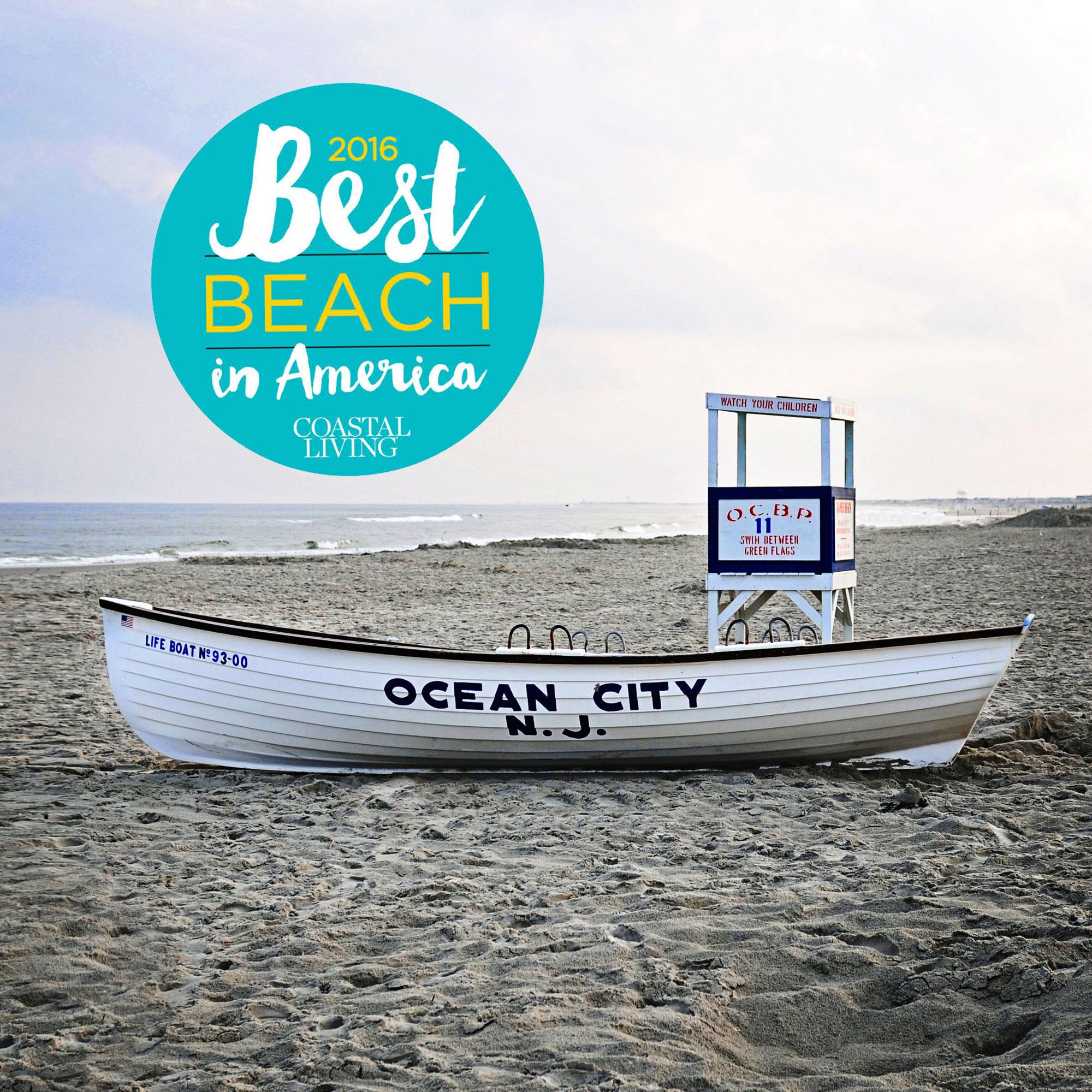 Ocean City Nj Named The Best Beach In